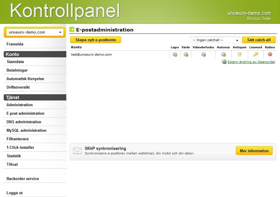 webmail unoeuro webmail